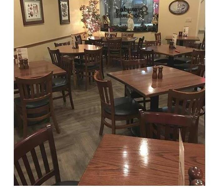 Restaurant Water Damage After
